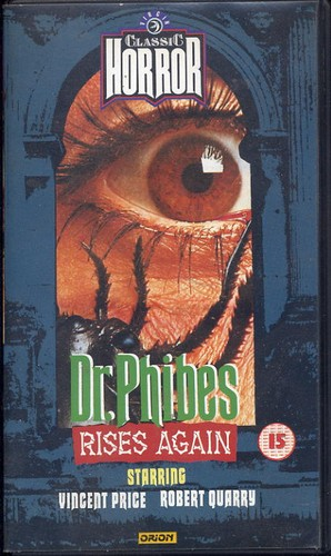 Dr Phibes Rides Again - Hammer Horror Video